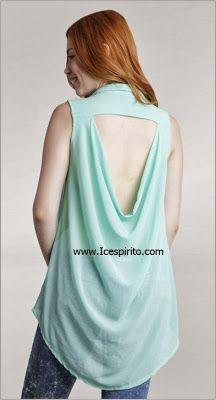 cola de pato en espalda de blusa o vestido parte 1   el rincon de
