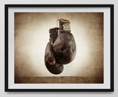 Vintage Boxing Gloves on Vintage Background Fine Art Photography Print, Sports Decor, Boxing decor, Man Cave art, Vintage Sports Nursery Art,Boxing Gloves, Nursery decor, Kids Room Wall Art. An unframed fine art photo print. All my photos are printed with love on premium finish Kodak Endura Lustre photo paper that won't curl or yellow over time. These are real photographs, not inkjet prints. It will be shipped safely to you in rigid and moisture resistant packaging. SIZES available (Above...