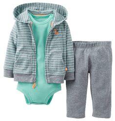 Carters Boys Baby 3-pc. Sly Little Guy Hoodie Set 9 Mo Heather grey Carter's http://www.amazon.com/dp/B00K8LX1OS/ref=cm_sw_r_pi_dp_nnGQtb1TKYR957R8
