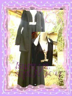 Cople..umbrella dress and blazer ...