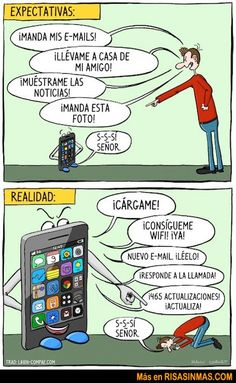 Expectativas con el móvil