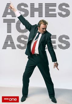 Ashes to Ashes poster with Gene Hunt