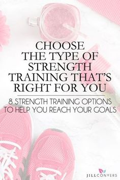Incorporate different types of strength training into a training program to stay motivated and to achieve your health and fitness goals. Click through to check out the strength training options and choose the one (or more) that's right for you. Pin it now and workout later. @jillconyers