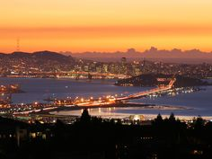 View of SF from Oakland/Berkeley Hills