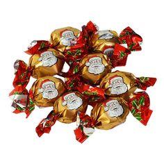 Купить Новогодние шоколадные конфеты на развес Дед Мороз золотые Sorini 100 гр — цена доставка магазин Сладкая страсть Москва Ded Moroz, Bowser, Character, Lettering