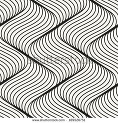Find Vector Seamless Pattern Modern Stylish Texture stock images in HD and millions of other royalty-free stock photos, illustrations and vectors in the Shutterstock collection. Line Patterns, Pretty Patterns, Waves Line, Water Ripples, Geometric Tiles, Smooth Lines, Line Design, Op Art, Zentangle