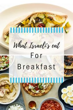 Pure, unadulterated Israeli breakfast is nothing like Asian or American mornings. From Shakshuka to all different kinds of salads, it is all part of an authentic Israeli breakfast!