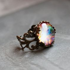 Orion Lacy Ring - Wanderlust Collection - Adjustable Ring, Galaxy, Universe, Outer Space, stars on Etsy, $20.00