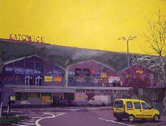 Kattowitz by Lukas LL, via Behance #katowice #art #painting #sztuka #malarstwo #silesia