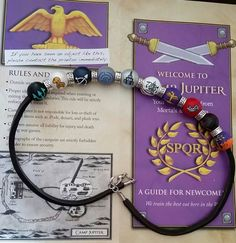 Percy Jackson camp half blood necklace Blood by TotallyObsessed