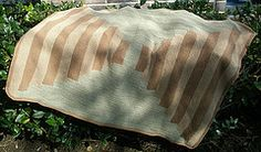 Ravelry: Courthouse Steps Denim Blanket pattern by Kay Gardiner and Ann Shayne