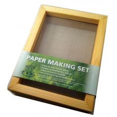 Paper making Set for paper for making handmade paper Life Learning, Handicraft, Craft Supplies, A5, Arts And Crafts, Paper, Frame, How To Make, Handmade