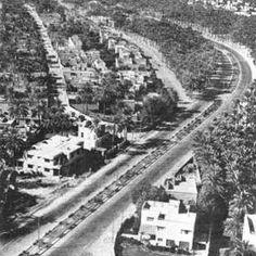 شارع المغرب في الاعظميه نهاية الخمسينات