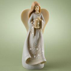 Guardian Angel Of Home Figurine Foundations | MonsterMarketplace.com