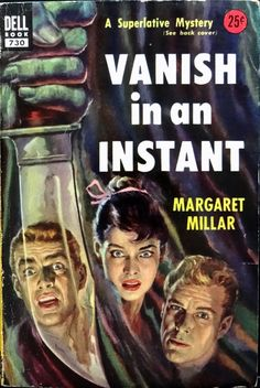Vanish in an Instant, Dell 730 (1953). Cover Art by Griffith Foxley