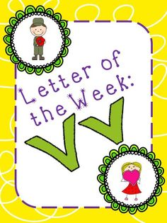 Letter of the Week: Vv