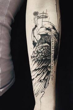 Koit Raven tattoo