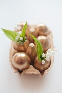 Golden eggs: http://www.stylemepretty.com/living/2014/04/04/diy-easter-eggs-that-will-wow/