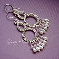 wirework earrings