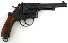 Swiss model 1882 7.5mm Military revolver manufactured by Bern Arsenal. Officer model revolver.
