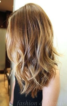 My fav color! medium hair styles for women by misty