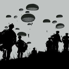 Have a great jump into week! Airborne! #humpday #airborne #aatw #paratrooper #infantry #soldier #grunt #arcticparatroopers #Geronimo #gear4grunts