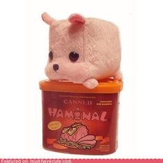 canned ham-inal? I'M IN LOVE