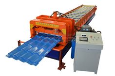 The #glazed #tile #roll #forming #machine consists of decoiler , roll forming mill , PLC control system , cutting device . The glazed tile roll forming machine is one type of Wall/Roof Panel forming machine. The typical point that will make you satisfied is no abrading on the surface. The machine can be running forward or reversed by inverter control. Steel Roof Panels, Tile Steps, Smart House, Roll Forming, Glazed Tiles, Control System, Rolls, Surface, Running
