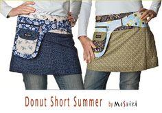 MOSHIKI ROCK Donut - short version. #Moshiki  #Wrapskirt #Roecke #Trend #trendy #clothing #fashion #Mode #Fantasie #Fantasy #Style #Summer