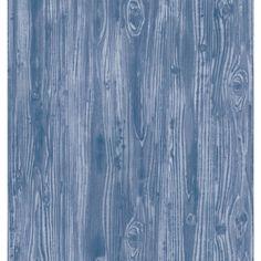 Woodgrain Indigo Tempaper Self Adheisve Removable Wallpaper Go With The Grain And