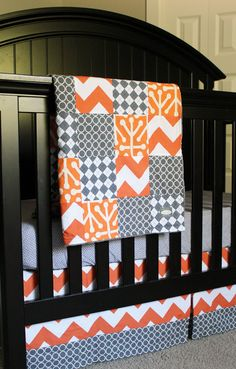 Custom Crib Baby Bedding - Reserved