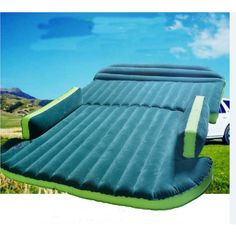 Inflatable Mattress Travel SUV Car Air Bed sex Back Seat Durable Camping w/ Pump