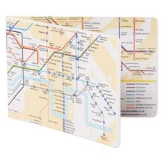 £5.99 - Underground Map Oyster Wallet.  This handy oyster card holder is the perfect for getting about the capital with ease. #underground