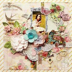Love This by Larissa Albernaz. Prima CHA sneak peek of The Divine Collection by Jodie Lee Designs