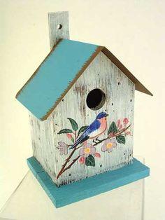 Metal Roof Bluebird Birdhouse