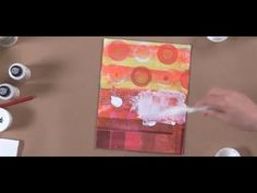 ▶ Patti Brady's Rethinking Acrylic: Encaustic Effects with Acrylic Paint - YouTube