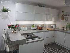 - – (n… – Table Ideas Dad's Kitchen, Kitchen Decor, Kitchen Design, Kitchen Cabinets, House Plans, House Design, Interior Design, Table, Furniture