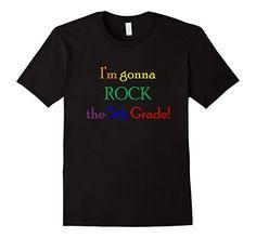 Men's I'm Gonna Rock the 5th Grade T-Shirt, Back to Schoo…