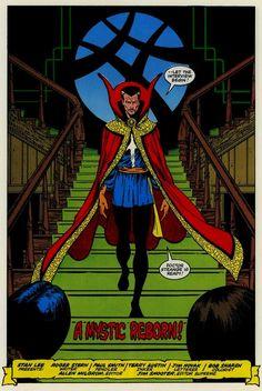 jthenr-comics-vault:  Doctor Strange Vol.2, #56 (December 1982)