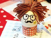 Allerlei fürs Ei!  Dekoration fürs Ei! Osterspaß!