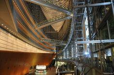 Japan, Tokyo, ginza, Yurashiko, Tokyo international forum (Rafael Vinoli arch.) Tokyo Architecture, Tower, Japan, Building, Travel, Okinawa Japan, Viajes, Lathe, Buildings