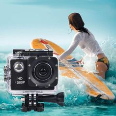 Action Camera Sports Camera on Mercari Nevada California, Waterproof Camera, Sports Camera, Wide Angle Lens, Gopro Hero, Video Camera, Camcorder, Hd 1080p, Surfing