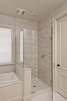 Love for master bathroom shower redo  Corian  Sea Salt from the Martha  Stewart Living  Collection  available exclusively at The Home Depot Small soaker tub bathroom traditional with japanese soaking tub  . Soaker Tub With Shower Surround. Home Design Ideas