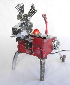 Junkyard Dog assemblage © 2011 Graham Schodda