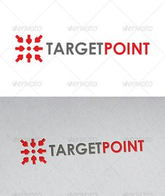 Target Point Logo #GraphicRiver - Three color version: color, greyscale and single color. - The logo is 100% resizable. - You can change text and colors very easy using the named and organized layers that includes the file. - The typography used is Century Gothic a system default font. Created: 9July12 GraphicsFilesIncluded: VectorEPS #AIIllustrator Layered: Yes MinimumAdobeCSVersion: CS4 Resolution: Resizable Tags: agency #arrow #arrows #business #centre #company #consult #consulta