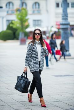 Cashmere in Style : GLAMOUR Wardrobe Diary - Day 2