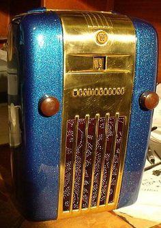 1940s Westinghouse Refrigerator Bakelite Radio ~ My Radio purchased @ EBay