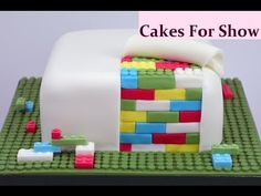 Making a Lego Cake