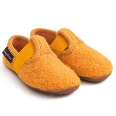 Pantofi interior Haflinger din lână - Everest Jonas Corn