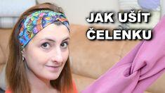 Jak ušít roušku - DIY anatomická rouška - ŘekniJak.cz Diy Face Mask, Turban, Youtube, Diys, Projects, Scrappy Quilts, Classroom, Turbans, Bricolage